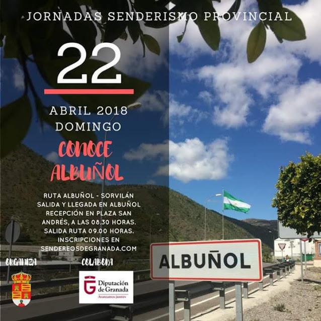 Jornadas senderismo Diputación.Albuñol-Sorvilán