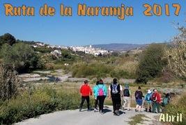 Ruta de la Naramja 2017